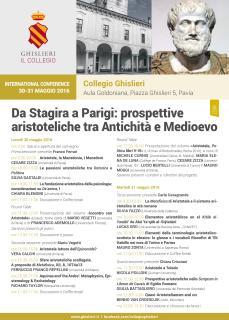 Locandina Aristotele Pavia